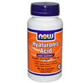 NOW Hyaluronic Acid, 100mg, 60 Vcaps