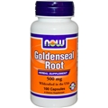 NOW Goldenseal Root, 500mg, 100 caps