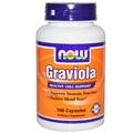 NOW Graviola, 500mg, 100 caps