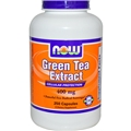 NOW Green Tea Extract, 400mg, 250 caps