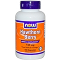 NOW Hawthorn Berry, 550 mg, 100 Caps
