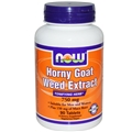 NOW Horny Goat Weed Extract 750 mg - 90 Tablets