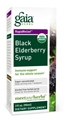 Gaia Herbs Black Elderberry Syrup, 3 fl oz