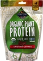 Garden of Life Organic Plant Protein Smooth Coffee -- 10 Servings