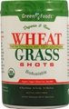 Green Foods Organic and Raw Wheat Grass Shots -- 10.6 oz