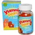 Hero Yummi Bears Vitamin D-3, 60 Yummi Bears