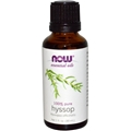 NOW Hyssop Oil, 1oz, 100% Pure