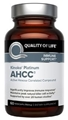 Quality of Life Labs Kinoko Platinum AHCC, 750mg, 60 Vcaps