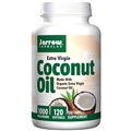 Jarrow Formulas Coconut Oil, 120 gels, Extra Virgin Organic