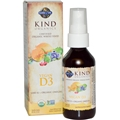 Garden of Life Kind Organics Vegan D3, 2 fl oz