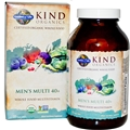 Garden of Life Kind Organics Men's Multi 40+, 120 Tabs