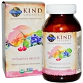Garden of Life Kind Organics Woman's Multi, 120 Tabs