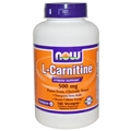 NOW L-Carnitine, 500 mg, 180 caps