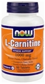 NOW L-Carnitine, 1000mg, 50 tabs