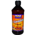 NOW L-Carnitine Liquid 1000mg, 16 floz, Citrus