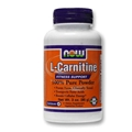 NOW L-Carnitine Tartrate Powder, 3oz