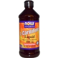 NOW L-Carnitine Liquid 1000mg, 16 fl oz, Tropical Punch