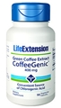 Life Extension Green Coffee Extract CoffeeGenic, 400mg, 90 Vcaps