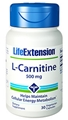 Life Extension L-Carnitine, 500 mg, 30 caps