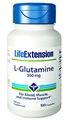 Life Extension L-Glutamine, 500mg, 100 caps
