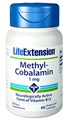 Life Extension Methylcobalamin, 1mg, 60 lozenges