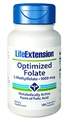 Life Extension Optimized Folate (L-Methylfolate), 1000 mcg, 100 Vcaps