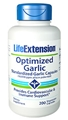 Life Extension Optimized Garlic, 200 Vcaps
