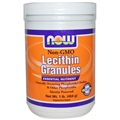 NOW Lecithin Granules, 1 lb, non-GMO