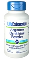 Life Extension Arginine Ornithine Powder, 150 grams