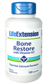 Life Extension Bone Restore with Vitamin K, 120 Caps