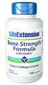 Life Extension Bone Strength Formula with KoAct, 120 caps