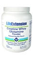 Life Extension Creatine Whey Glutamine Powder, 1 lb