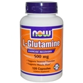 NOW L-Glutamine, 500mg, 120 caps