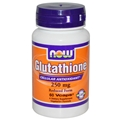 NOW L-Glutathione, 250mg, 60caps