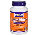 NOW L-Ornithine, 500mg, 120 caps