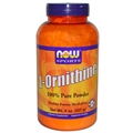 NOW L-Ornithine Powder, 8oz