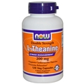 NOW L-Theanine, 200 mg, 120 VCaps