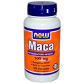 NOW Maca, 500mg, 100 cap
