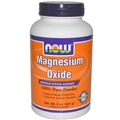 NOW Magnesium Oxide Powder, 8oz