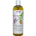 NOW Massage Oil, 16 oz, Lavender Almond