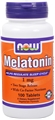 NOW Melatonin 1mg, 100tabs,