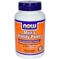 NOW Men's Virility Power, 120 caps
