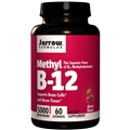 Jarrow Formulas Methyl B-12 5000mcg, 60 lozenges