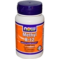 NOW Methyl B-12, 10,000 mcg, 60 loz
