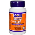 NOW Methyl B-12, 1000 mcg, 100 loz