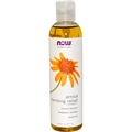 NOW Arnica Warming Relief Massage Oil, 8oz