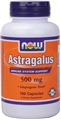 NOW Astragalus 500mg, 100caps