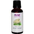 NOW Atlas Cedar Oil, 1oz, 100% Pure