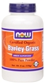 NOW Barley Grass Powder, Organic, 6oz