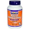 NOW Natural Beta Carotene, 25,000IU, 180 gels